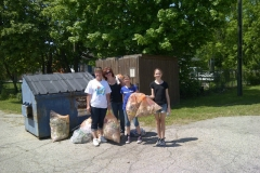Brenda-Johnson-volunteers-with-local-residents-for-a-Community-Clean-Up-in-Mount-Hope-Spring-2012