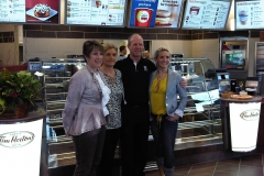 Grand-Opening-of-the-Binbrook-Tim-Hortons-Councillor-Johnson-with-the-Kennish-Family-Spring-2012